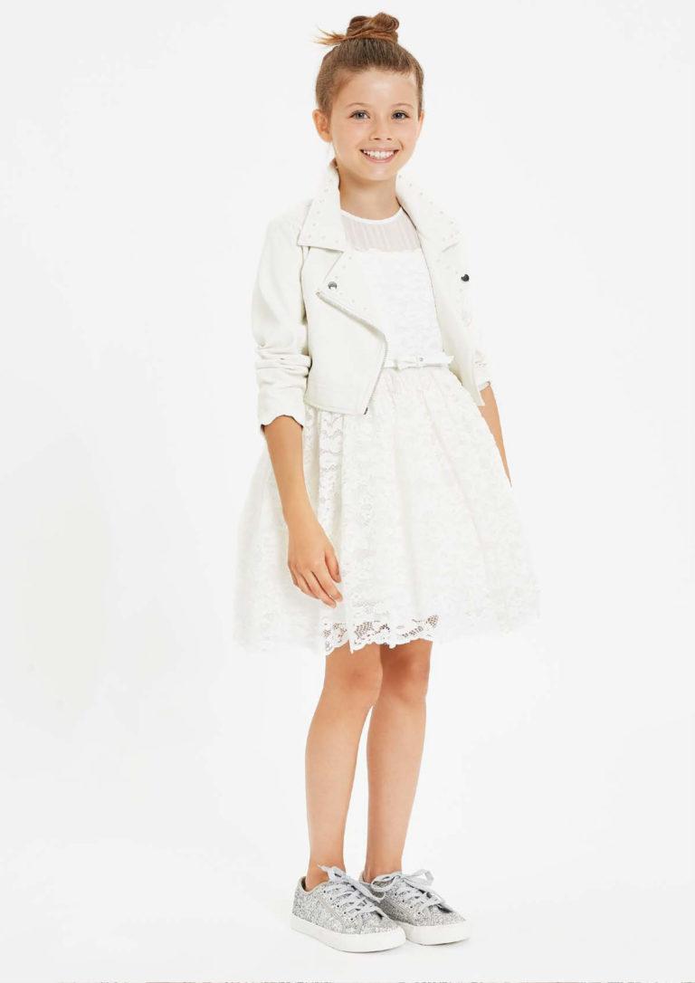Vestito bianco ragazza - Baby Star Torino