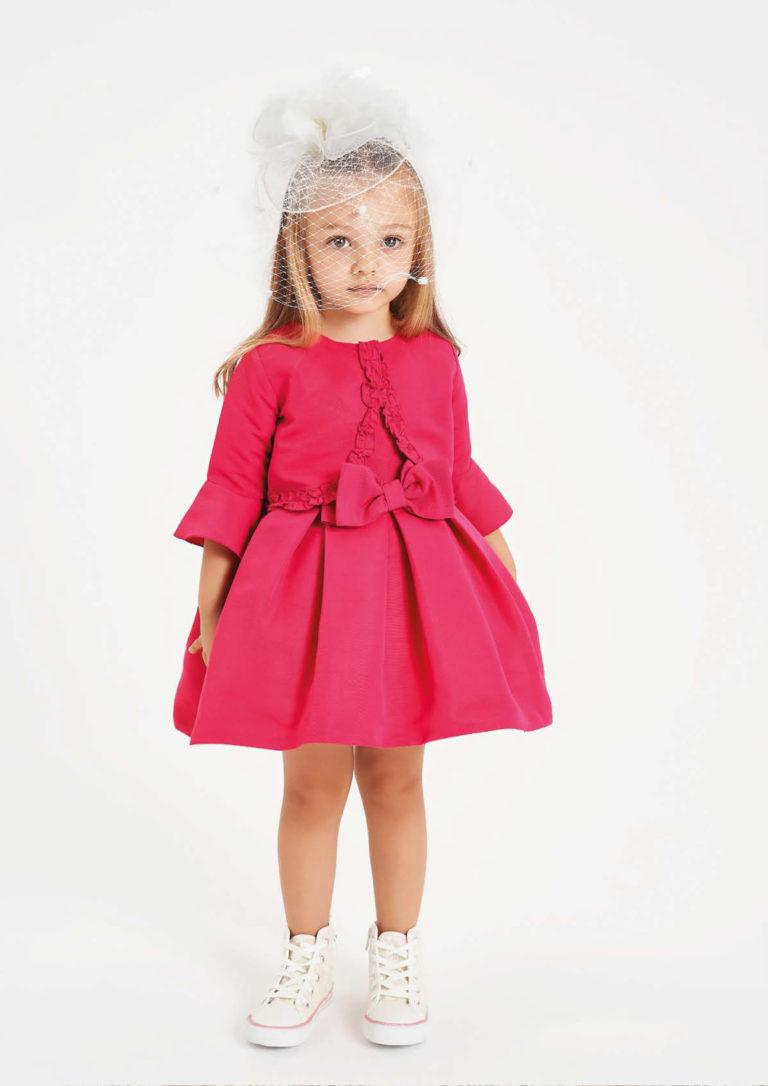 Vestitino fucsia corto bambina - Baby Star Torino